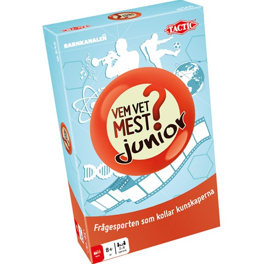 Tactic Who Knows Most Junior Travelgame Blue