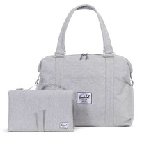 Herschel Strand Sprout Duffel Bag Light Grey Crosshatch Light Grey Crosshatch