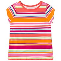 Lands End Multistripe Short Sleeve T-shirt UW6