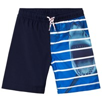 Lands End Shark Stripe Badbyxor 7J5