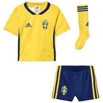 Sweden National Team Sverige 2018 World Cup Kids Hemmaställ Yellow