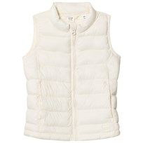GAP ColdControl Lite Puffer Vest Ivory Frost IVORY FROST