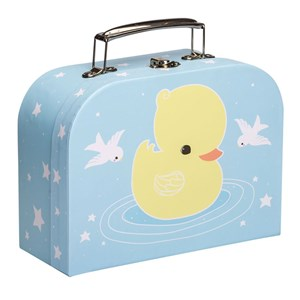 Image of A Little Lovely Company Little Duck Suitcase (3056078339)