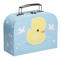 A Little Lovely Company Little Duck Suitcase Multi