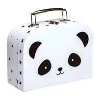 A Little Lovely Company Little Panda Suitcase Multi