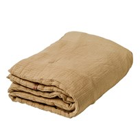 garbo&friends Straw Filled Muslin Blanket Straw Yellow