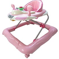 Basson Baby Walker Walk'n Play Pink Multi