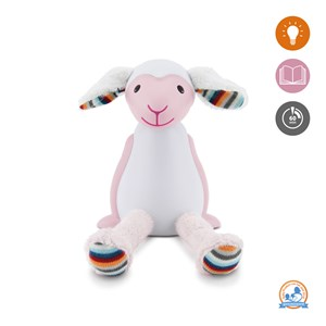 Image of Zazu Fin the Sheep Nightlight Pink (3022258067)