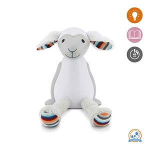 Image of Zazu Fin the Sheep Nightlight Grey (3125279093)