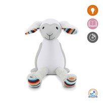 Zazu Fin the Sheep Nightlight Grey Black