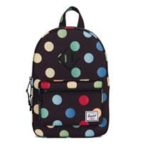 Herschel Heritage Kids Backpack Black Rainbow Black Rainbow