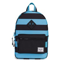 Herschel Heritage Kids Backpack Black/Bachelor Button Stripes Black/Bachelor Button Stripes/