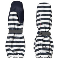 Didriksons Pileglove Printed Vantar Navy Simple Stripe Navy simpl