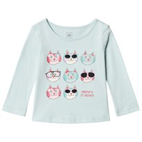 Gap Graphic T-shirt Cat Print CAT PRINT