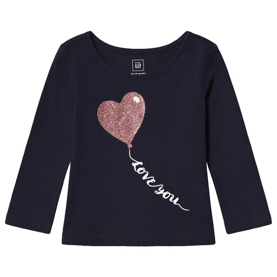 GAP Graphic Tee Placement Heart PLACEMENT HEART