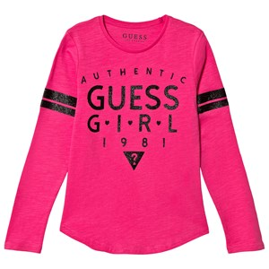 Image of Guess Pink Branded Tee 12 years (3022493087)
