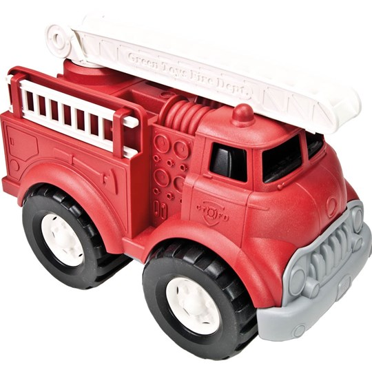 Green Toys Firetruck Red Red