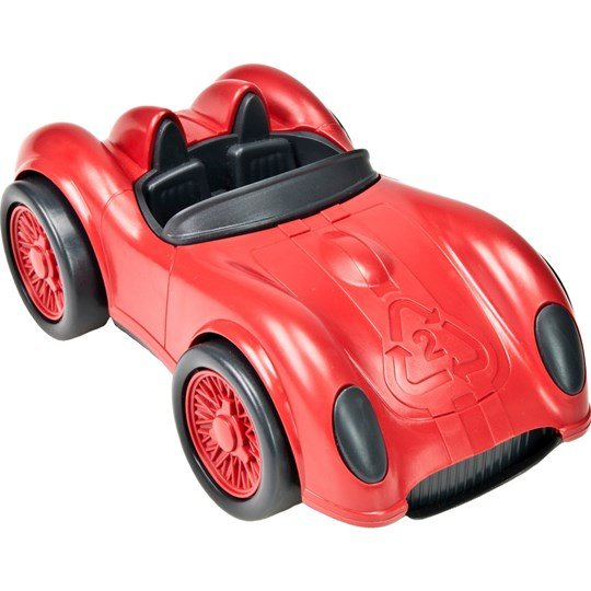 Green Toys Race Car Red Rød