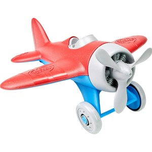 Image of Green Toys Airplane Red 12 months - 5 years (3148271581)
