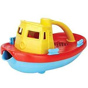 Image of Green Toys Tugboat Yellow 12 months - 5 years (3148271357)