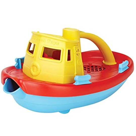 Green Toys Tugboat Yellow Yellow