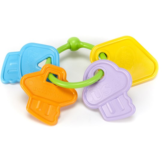 Green Toys First Keys Green
