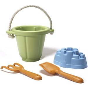 Image of Green Toys Sand Play Set Green 24 months - 7 years (3065592293)