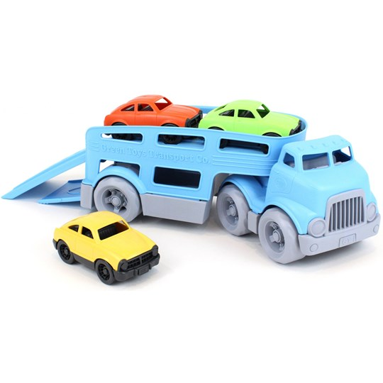 Green Toys Biltransport med bilar Green