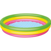 Bestway Pool with Inflatable Bottom, 211 Litres Multi