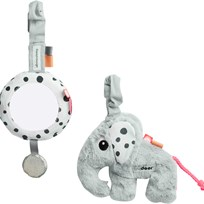Done by Deer To Go Activity Set Grey Grey