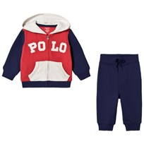 Ralph Lauren Blue, Red and While Polo Tracksuit 001