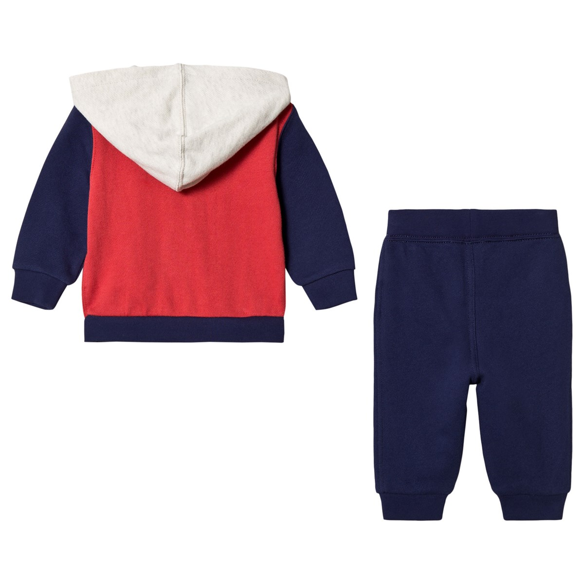 Ralph Lauren Blue Red And While Polo Tracksuit