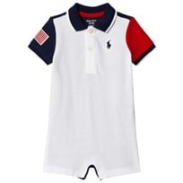 Ralph Lauren Navy and White Polo Romper with PP 001