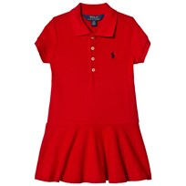 Ralph Lauren Red Pique Polo Dress 004
