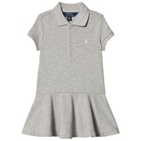 Ralph Lauren Grey Pique Polo Dress 001