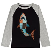 Gap Shark Long Sleeve Tröja True Black TRUE BLACK