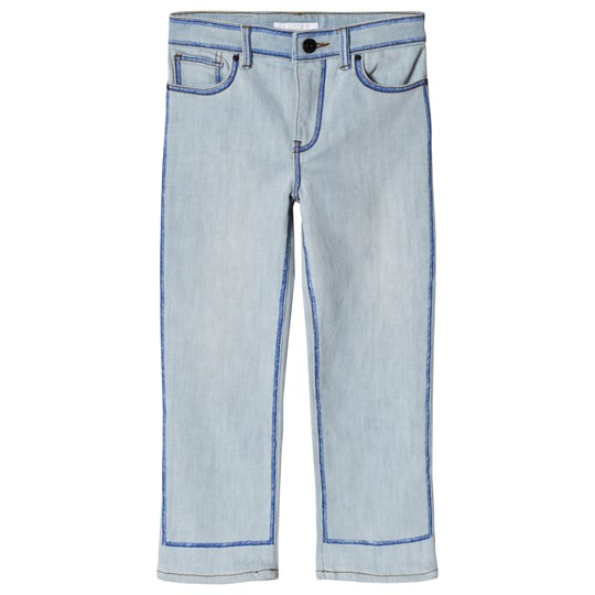 Burberry Marker Pen Print Jeans Light Blue Light Blue