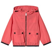 Burberry Showerproof Hooded Mini Jacket Bright Coral Pink BRIGHT CORAL PINK