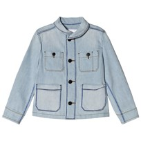 Burberry Marker Pen Print Jacket Light Blue Light Blue