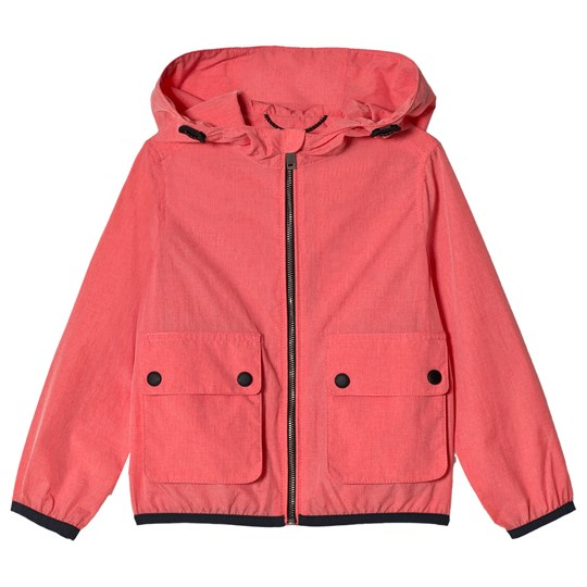 Burberry Showerproof Hooded Jacket Bright Coral Pink BRIGHT CORAL PINK