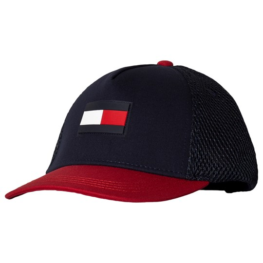Tommy Hilfiger Navy Flag Baseball Cap 901