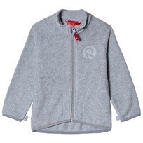 Reima Fleece Tröja Melange Grey White