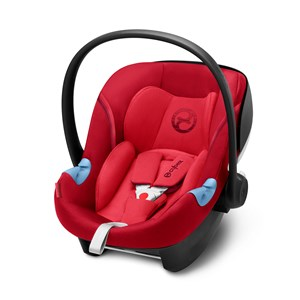 Image of Cybex Aton M i-Size Infant Carrier Rebel Red 2018 (3056059181)