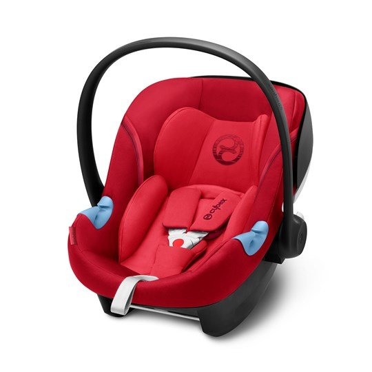 Cybex Aton M i-Size Babyskydd Rebel Red 2018 Rebel Red