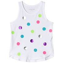 Lands End Fun Dots Linne Vit 8BA