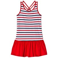 Lands End Red, White and Blue Stripe Pattern Tank Dress 6WB