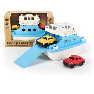 Image of Green Toys Ferry Boat with Mini Cars 12 mdr. - 6 år (3148271509)