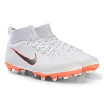 NIKE White Superfly 6 Academy MG Junior Football Boot 107