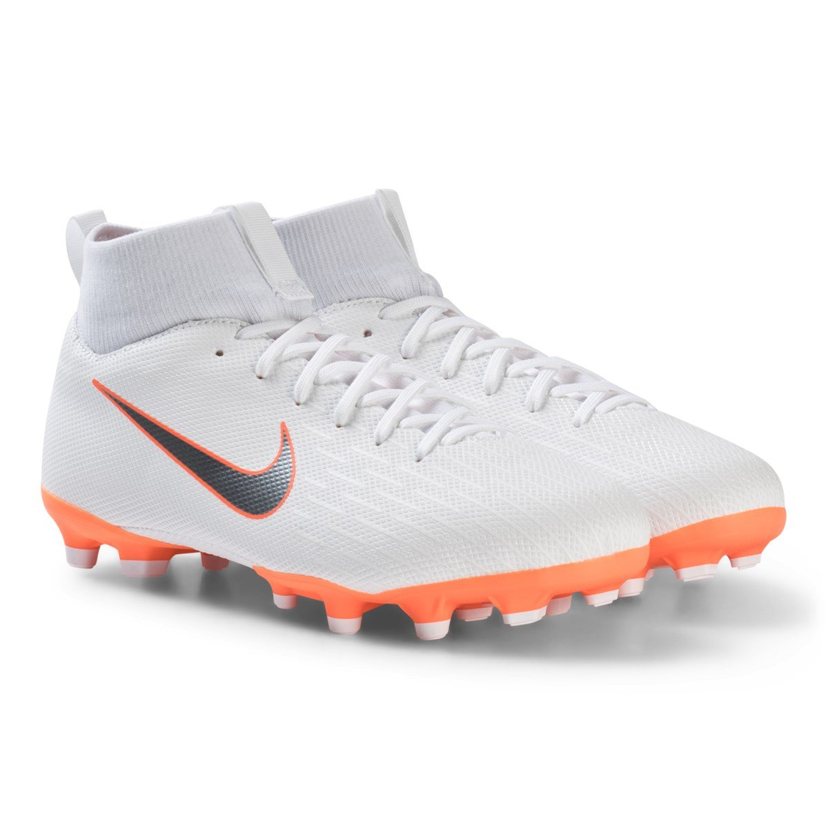 the best attitude 9c4bb 23ae8 nike white superfly 6 academy mg junior football boot