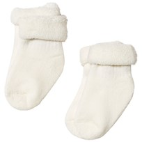 Lillelam White Wool Socks 2-Pack Hvit
